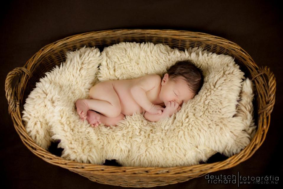 Újszülöttfotózás: Milán