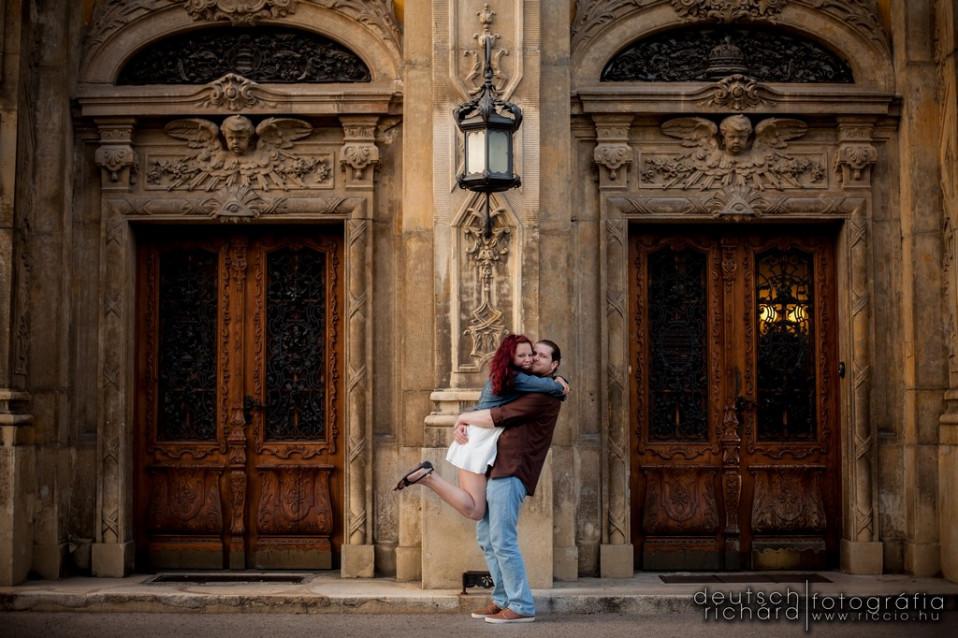 Jegyes fotózás: Judit és Ádám – Budapest