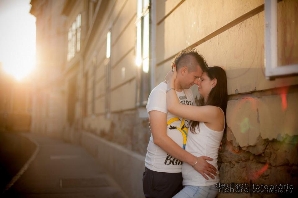 Jegyes fotózás: Dóra és Dávid – Pécs