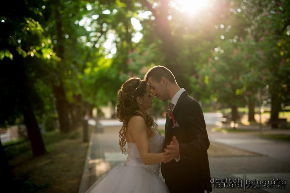 Esküvő: Zsuzsi és Balázs