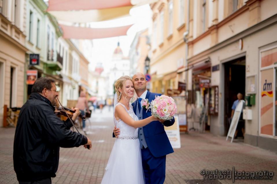 Esküvő: Edit és Ivan