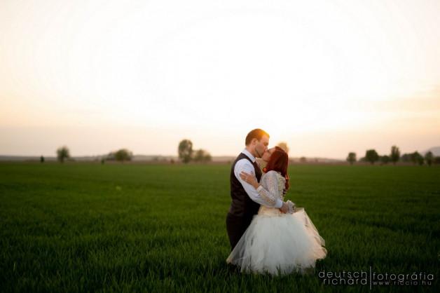 Esküvő: Szandzsi és Peti