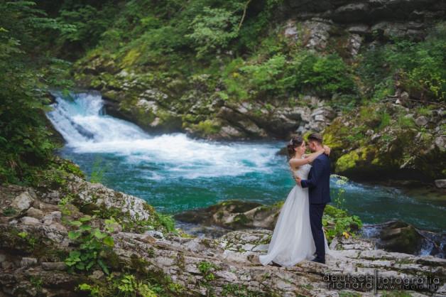 Juci és Tibi kreatív fotózása Szlovéniában és Olaszországban