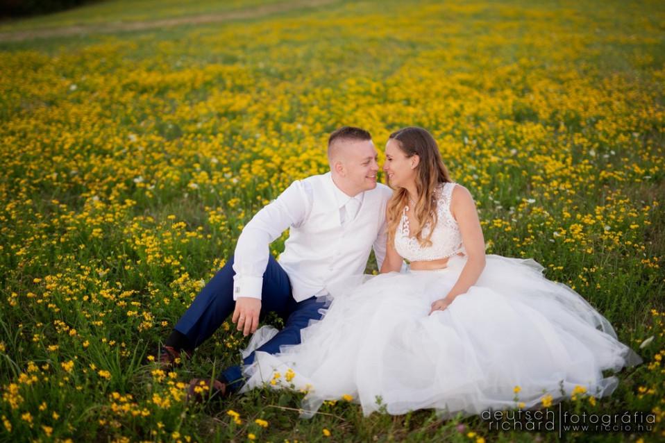 Esküvő: Tina és Máté