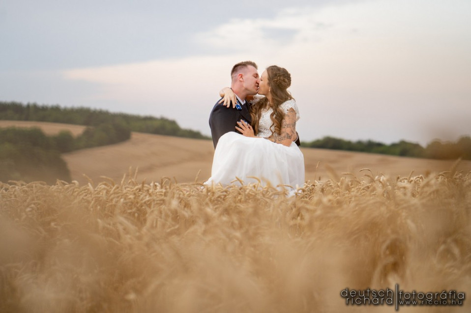 Esküvői kreatív: Cinti és Tomi