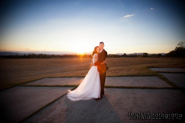 Esküvő: Dia és Andris