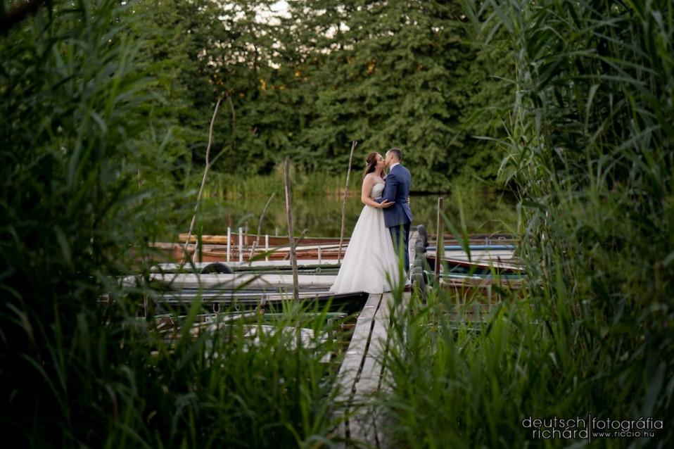 Esküvő: Emese és Geri