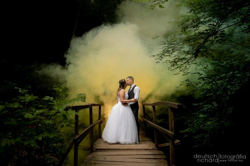 Esküvő: Maja és Jani – Hotel Kikelet – Pécs