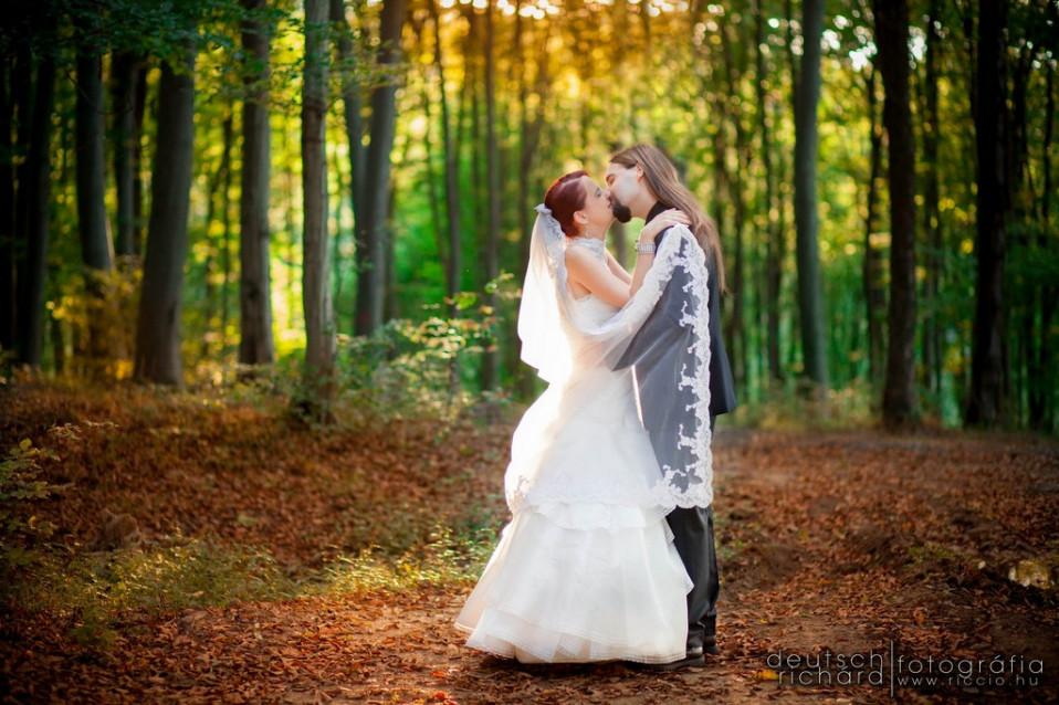 Esküvő: Emőke és Marci
