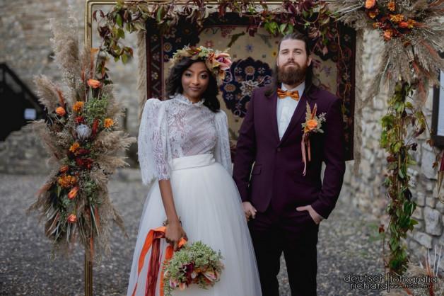 Bohókás Esküvő – Styled Shoot – Márévár