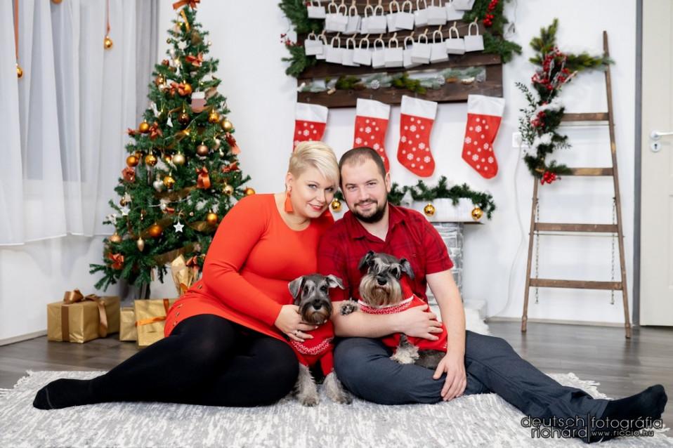 Niki és Dénes babavárós karácsonyi sorozata