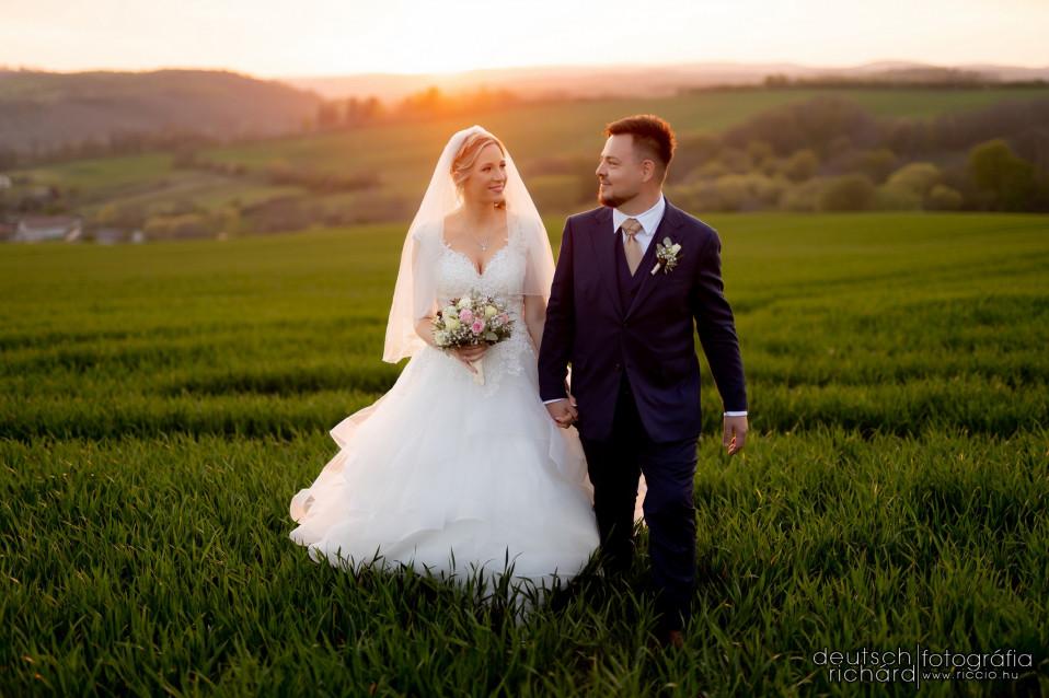 Esküvő: Bogi és Norbi – első felvonás