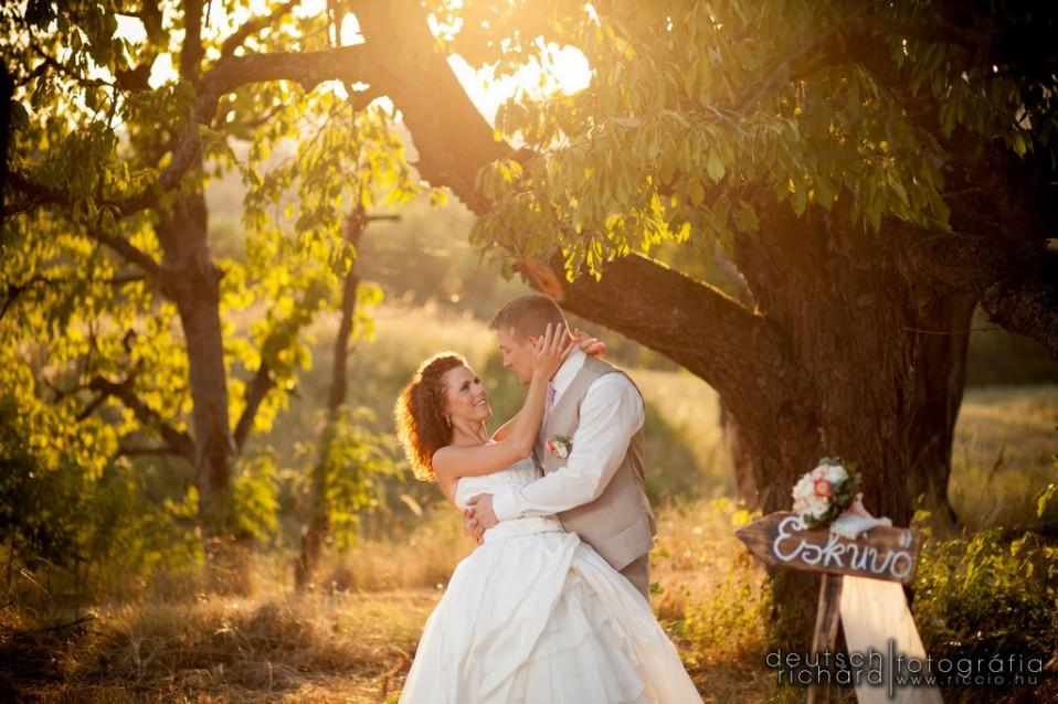 Esküvő: Zsófi és Balázs