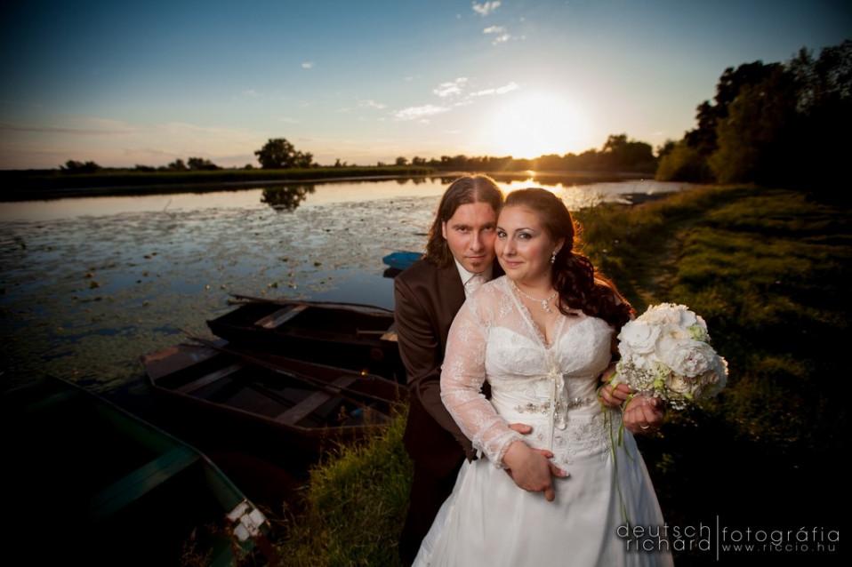Esküvő: Klau és Tibi