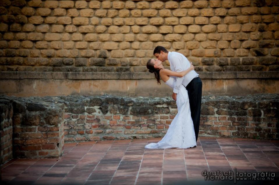 Esküvő: Írisz és Roland