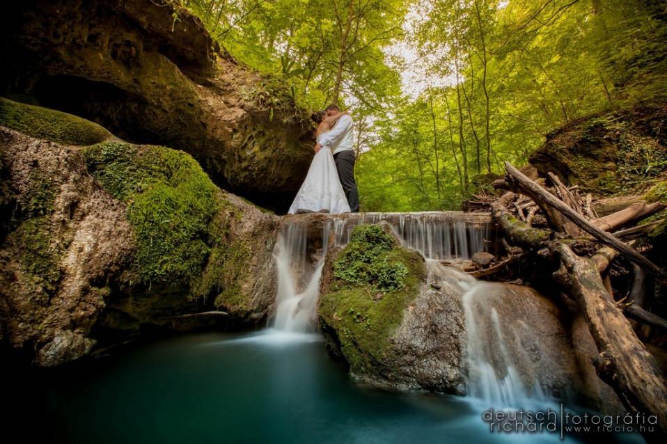 Esküvő: Melcsi és Gábor