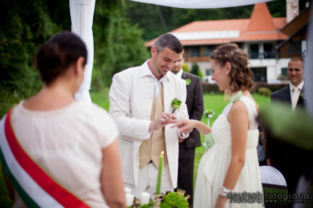 Esküvő: Juca és András